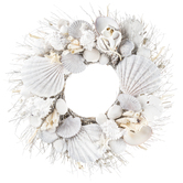 Seashell & Branch Wreath
