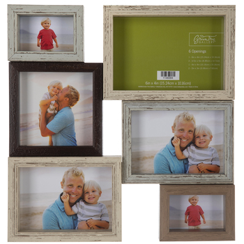 Multi-Color Collage Wall Frame