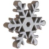 Wood Look Snowflake