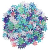 Pastel Plum Flower Sequins - 13mm
