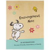 Peanuts Encouragement Notes