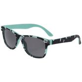 Blue & Black Camouflage Sunglasses