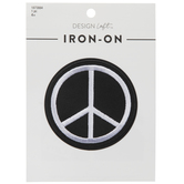 Peace Sign Iron-On Applique