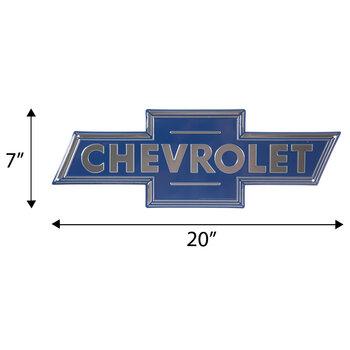 Chevrolet Logo Metal Sign