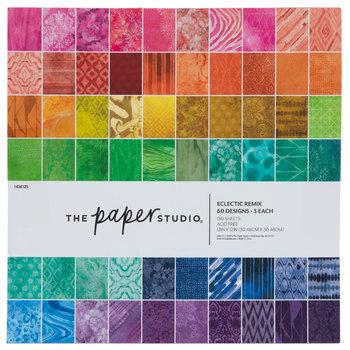 "Eclectic Remix Paper Pack - 12"" x 12"""
