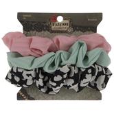 Pastel & Cheetah Scrunchies