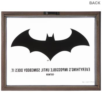 Batman Glass Wall Decor