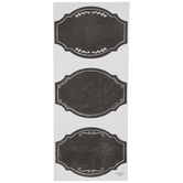 Chalkboard Ornate Label Stickers