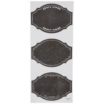 Chalkboard Ornate Label Stickers