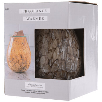 Brown Glass Fragrance Warmer