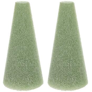 Green FloraFoM Floral Foam Cones