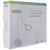 White LED Floor Light & Magnifier