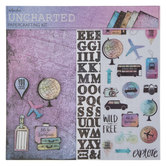 "Uncharted Scrapbook Kit - 12"" x 12"""
