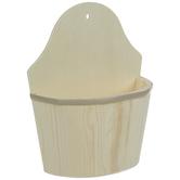 Wood Wall Basket