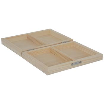 Wood Playing Card Box