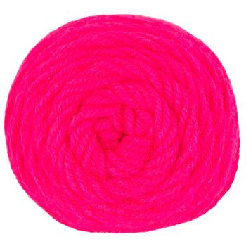 Pink Neon I Love This Yarn