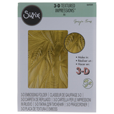 Sizzix 3D Textured Impressions Fallen Leaves Embossing Folder