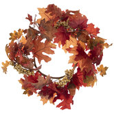 Leaf, Berry & Acorn Candle Ring