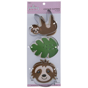 Sloth Cookie Cutters