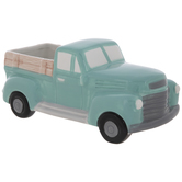Turquoise Truck Container