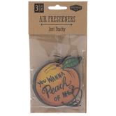 You Wanna Peach Of Me Air Fresheners