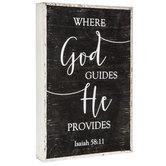 Isaiah 58:11 Wood Decor