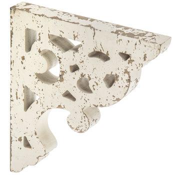 White Distressed Wood Corbel