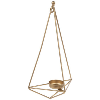 Geometric Teardrop Metal Wall Sconce