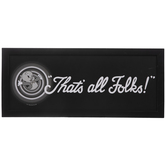 That's All Folks Wood Wall Decor