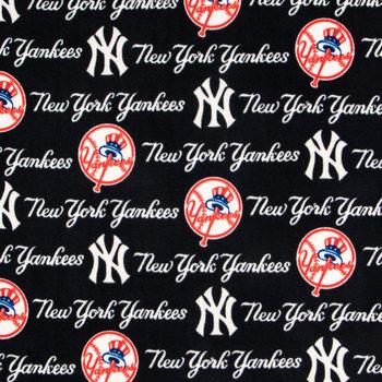 MLB New York Yankees Fleece Fabric