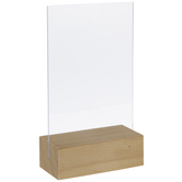Blank Table Sign