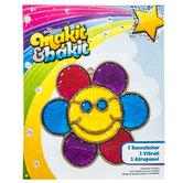 Smiley Flower Makit & Bakit Suncatcher Kit