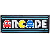 Arcade Pac-Man Metal Sign