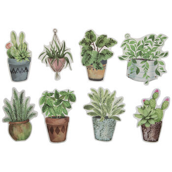 Potted Plant Cutouts