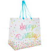 Happy Birthday Confetti Gift Bag