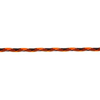 Orange, Black & White Paracord - Size 550