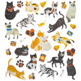 Cat Glitter Stickers