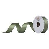 "Soft Green Single-Face Satin Ribbon - 7/8"""
