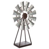 Windmill Metal Decor