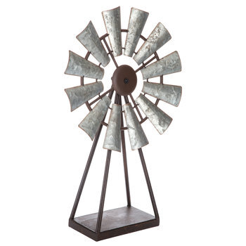 Windmill Metal Decor