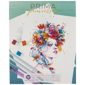 Princesses Watercoloring Book