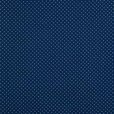 Mini Plus Navy Cotton Calico Fabric