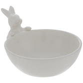 White Bunny Bowl