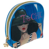 Tres Chic Cosmetic Bag