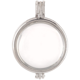 Round Glass Locket