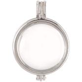 Round Glass Locket