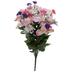 Pink & White Rose & Daisy Bush