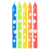 Multi-Color Polka Dot Candles
