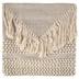 Woven Fringe Pillow Cover