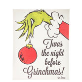Night Before Grinchmas Canvas Wall Decor